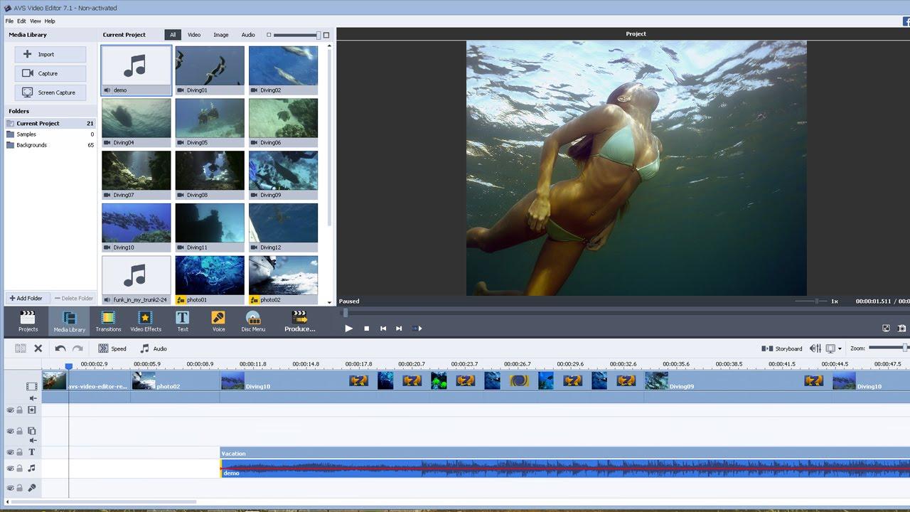 AVS Video Editor 9.4.4.377 Crack Plus Activation Key Latest