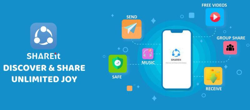 SHAREit 5.9.23 Crack with Keygen Full Download Latest