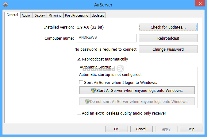 AirServer v7.2.6 Crack With Activation Code Free