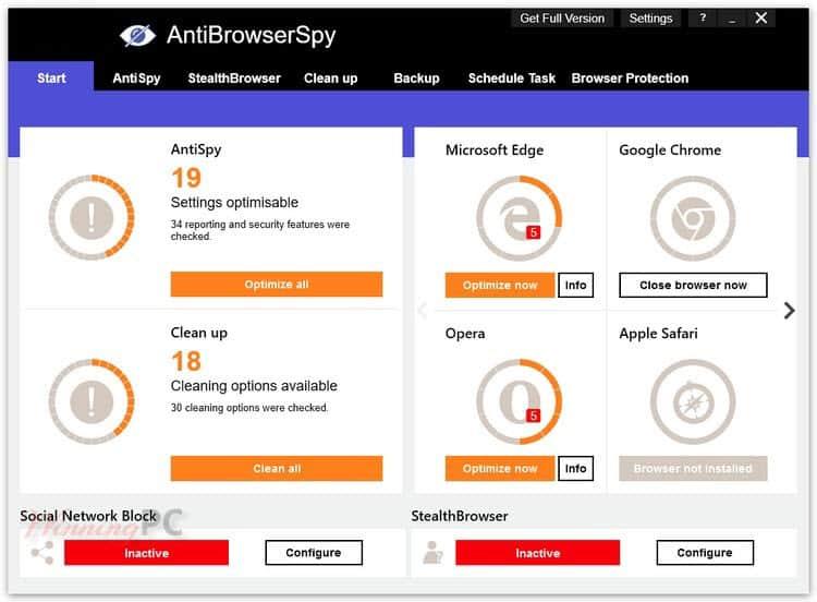 AntiBrowserSpy Pro 2021.4.06.49 Retail Crack + License Key Download