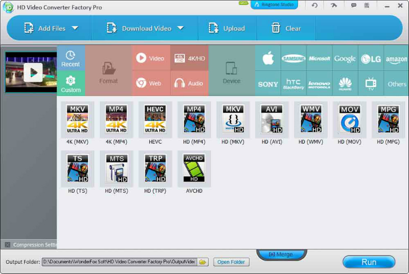 HD Video Converter Factory Pro 22.0 Crack + Serial Key Free