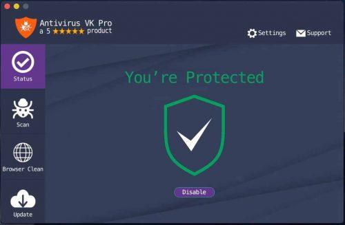 Antivirus VK Pro 6.1.0 Crack With Keygen Latest Version [2021]