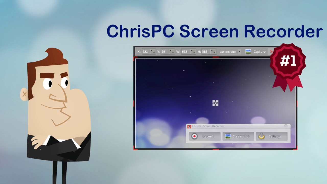 ChrisPC Screen Recorder Pro 2.45 Crack With Serial Key Latest