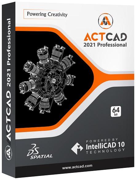 ActCAD Professional Crack 2021 10.0.1447 + Serial Key Free 2021