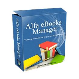 Alfa eBooks Manager Pro / Web 8.4.75.1 Crack + Portable Free