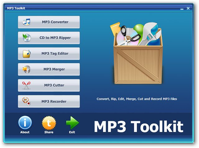 MP3 Toolkit 1.6.3 Crack with Serial Key Full Version