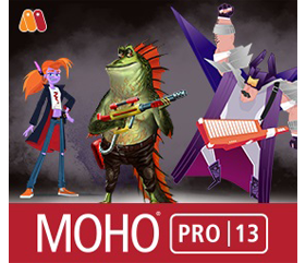 Moho Pro Crack 13.5.1 Build 2021 With License Key Latest