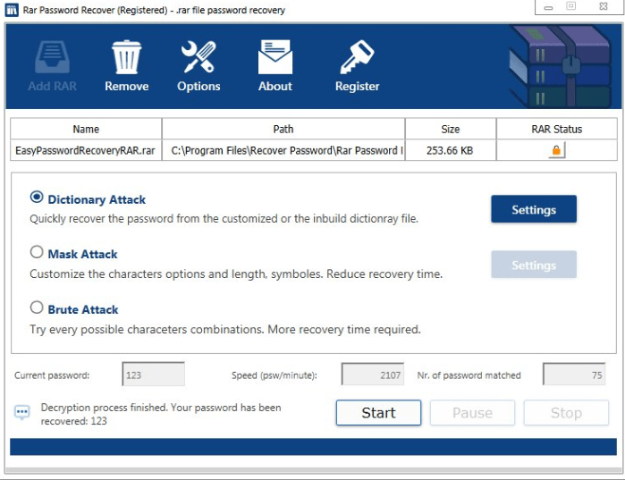 Advanced Archive Password Recovery 4.54.110 Serial key Latest 2021