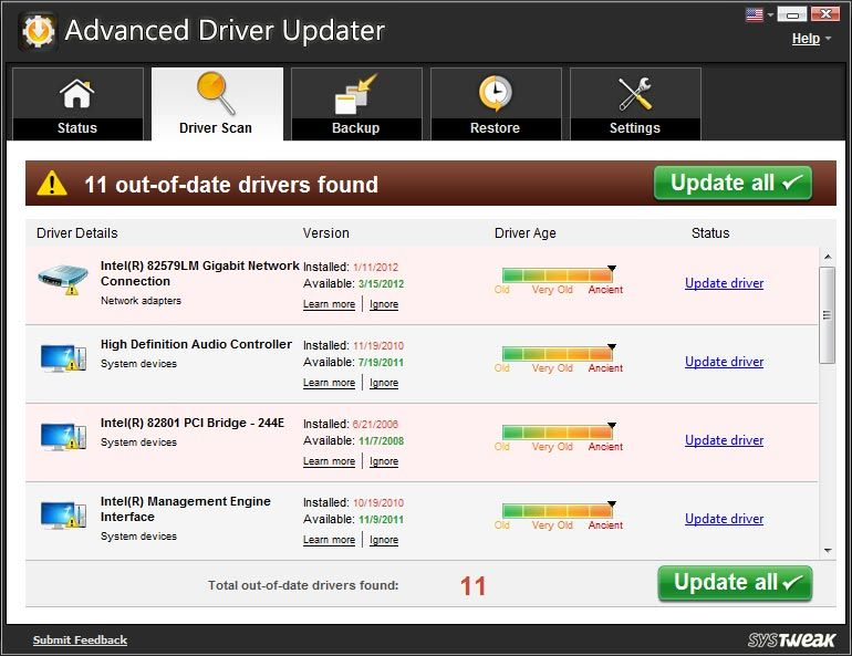 SysTweak Advanced Driver Updater 4.5.1166.1820 With Crack Free 2022